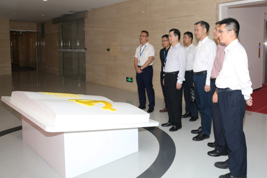 Chairman of Greatoo, Wu Chaozhong, Led the Inspection Team to Visit the Pearl River Delta Region