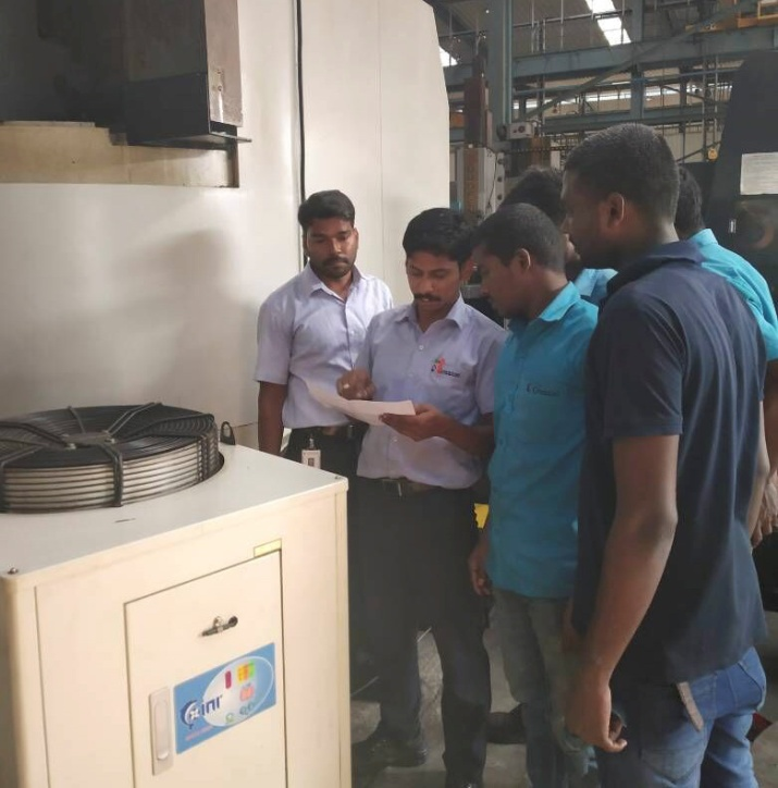Indian Company of Greatoo Conducts Equipment Maintenance Training Activities
