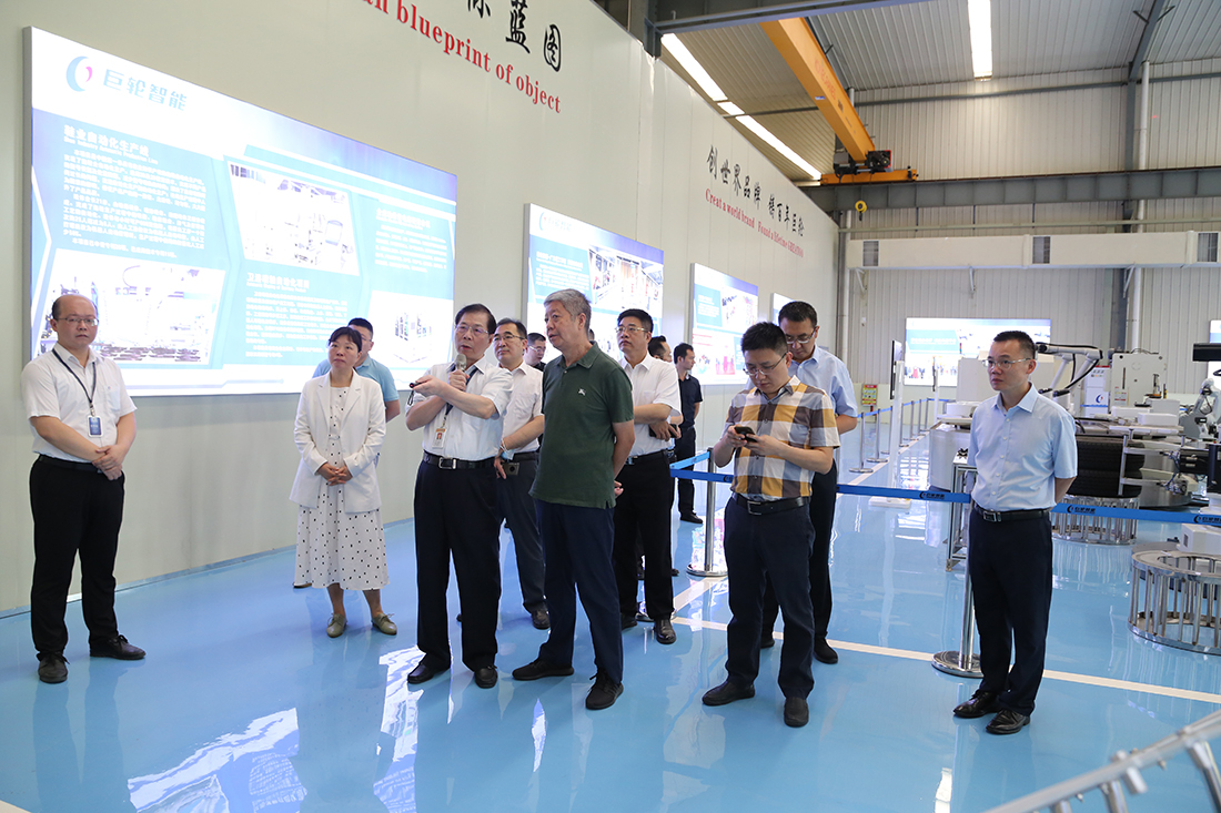 The Former Director of the High-tech Department of the Ministry of Science and Technology,Zhao Yuhai, and His Party Visited Greatoo for Investigation and Research