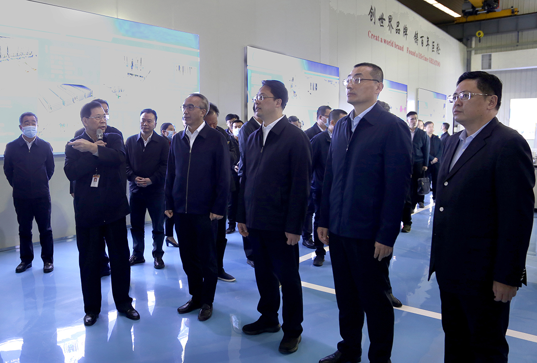 The Shanwei City Party and Government Delegation Inspected Greatoo