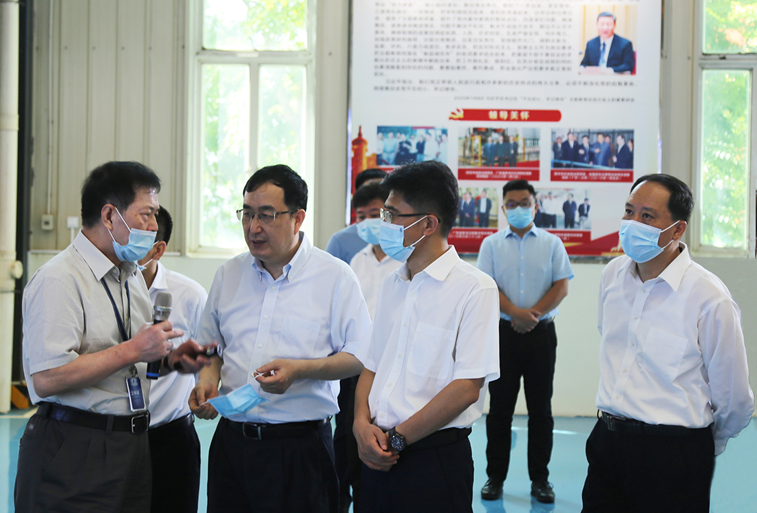 Wang Xi, Deputy Governor of Guangdong Province, and His Entourage Visited Greatoo